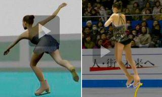 Kim Yu-na en flash et en vidéo